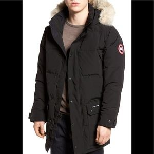 Canada Goose Emory Slim Fit Genuine Coyote Fur